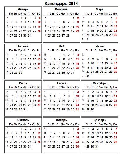 Православный календарь 2019 год