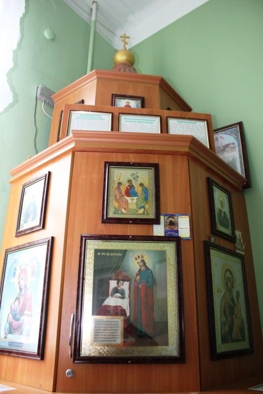 Часовня в честь иконы Божией Матери «Целительница»