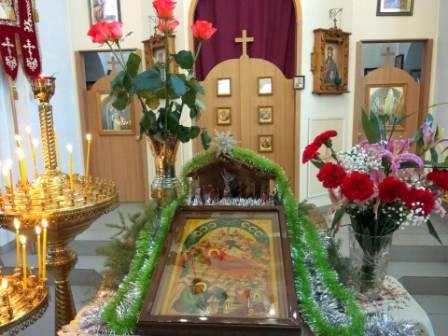 Молебен Рождеству Христову