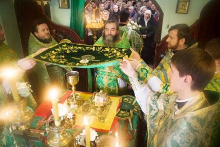 Престольный праздник в храме Блаженной Ксении Петербургской
