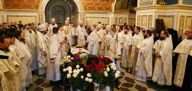 Почил в Боге архиепископ Макаровский Иларий (Шишковский). В Киево-Печерской Лавре проводили в последний путь архиепископа Илария