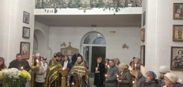 Соборование в храме Благоверного князя Георгия