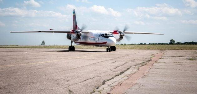 В Украину самолетом доставили детей, пострадавших в белорусском ДТП